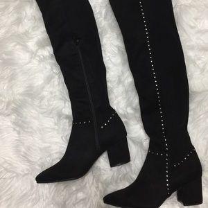 0b501d95f55 Seven Dials Shoes - Seven Dials Nicki Boots Womens Heel Over The Knee